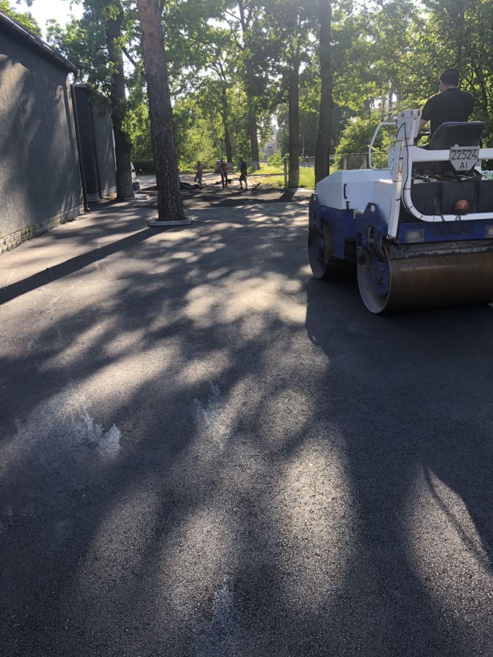 асфальтирование дорог Киева